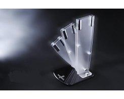 Матовая подставка для 3-х ножей Hatamoto FST-R-003