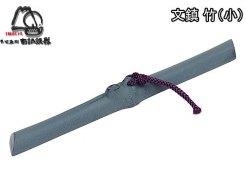 Пресс-папье - чугунный прижим для бумаги IWACHU 30026, Бамбук черный
