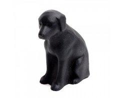 Пресс-папье - чугунный прижим для бумаги IWACHU 30217, Собака черная