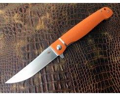 Складной нож Reptilian Карат-02 оранжевый