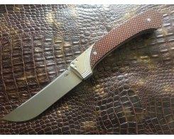Складной нож Reptilian Пчак-2 red