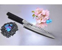 Универсальный нож RyuSen hammered Damascus RYS-84