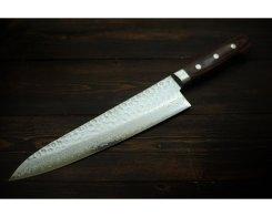 Универсальный нож шеф Sakai Takayuki Damascus Hammered 07396 Gyuto, 240 мм.