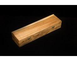 Подарочная шкатулка для ножа, дуб, Fabfut, Oak-1/Colorless