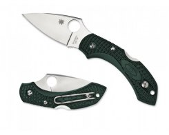 Складной нож Spyderco Dragonfly 2 C28PGRE2 British Racing Green