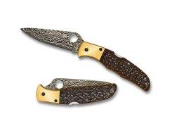 Складной нож Spyderco Endura 4 Damascus SC10JBOP