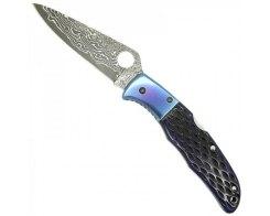 Складной нож Spyderco Endura 4 Sprint C10JBBP Damascus
