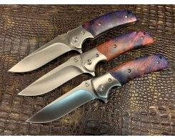 Складной нож Steelclaw Резервист MAR05-4, стабилизированный кап клёна