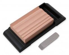 Водный точильный камень Suehiro Whetstones for Hobby-oriented Tools 2HS-12, 280 грит (с подставкой)