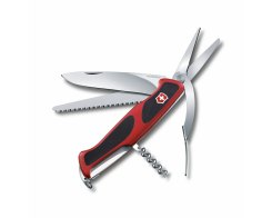 Складной нож Victorinox 0.9713.C RangerGrip 71 Gardener, 7 функций