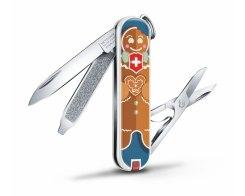 "Швейцарский нож Victorinox Classic SD ""Gingerbread Love"" 0.6223.L1909, 7 функций"