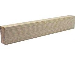 Магнитный держатель для ножей Woodinhome 39х6,5х3,5 см, ясень