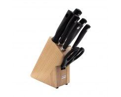 Набор из 5 кухонных ножей с ножницами и мусатом на подставке Wuesthof Grand Prix 9851-2